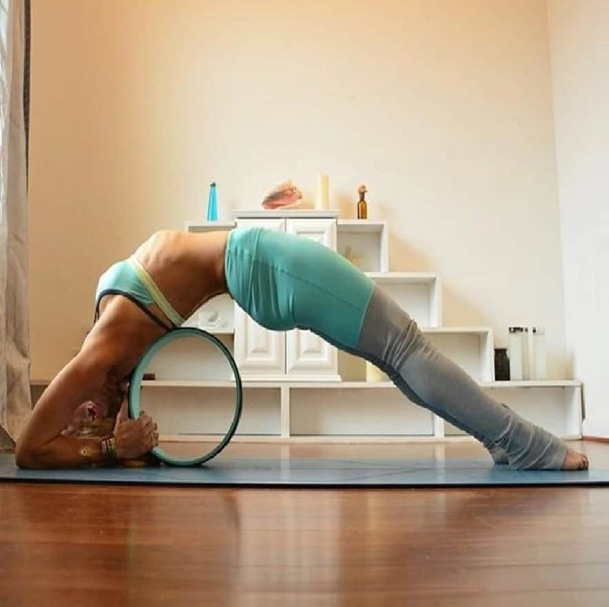 Exercise and Self-Love: Pilates and Yoga Fitness Wheel