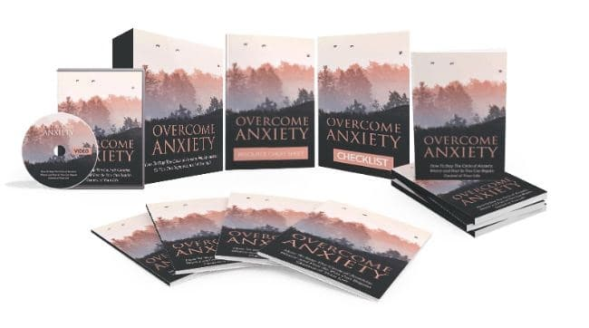 Inspirational Books - Overcome Anxiety: Control Your Life
