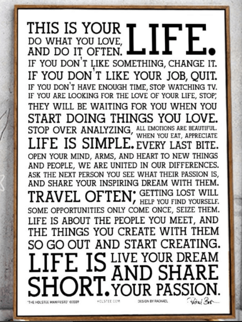 Inspirational Wall Posters And Stickers