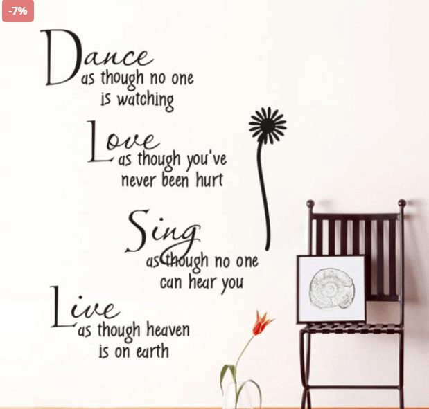Life Quotes To Hung On Your Wall