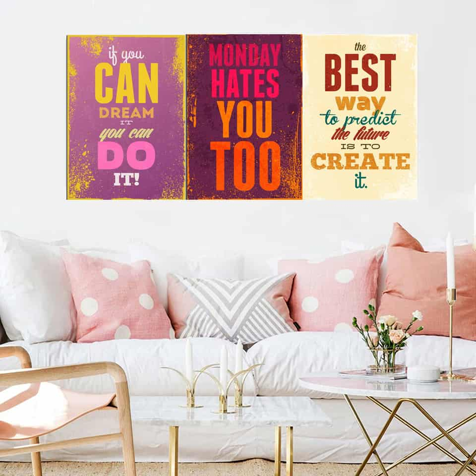 4 Ways To Stay Motivated Mentally- Print Poster For Home Décor